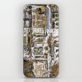 Winter Gardens  |  Drone Photography iPhone Skin