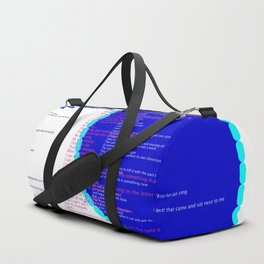 use your words Duffle Bag