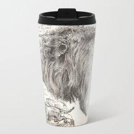 Lion(s) Sketch from Life Travel Mug