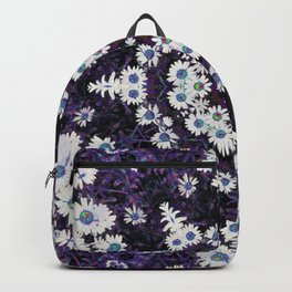 Daisy Purple Mandala Backpack