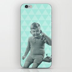 Geometric vintage iPhone & iPod Skin