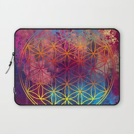 Flower of Life Laptop Sleeve