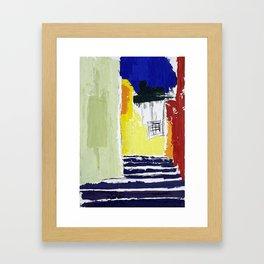 town view Framed Art Print