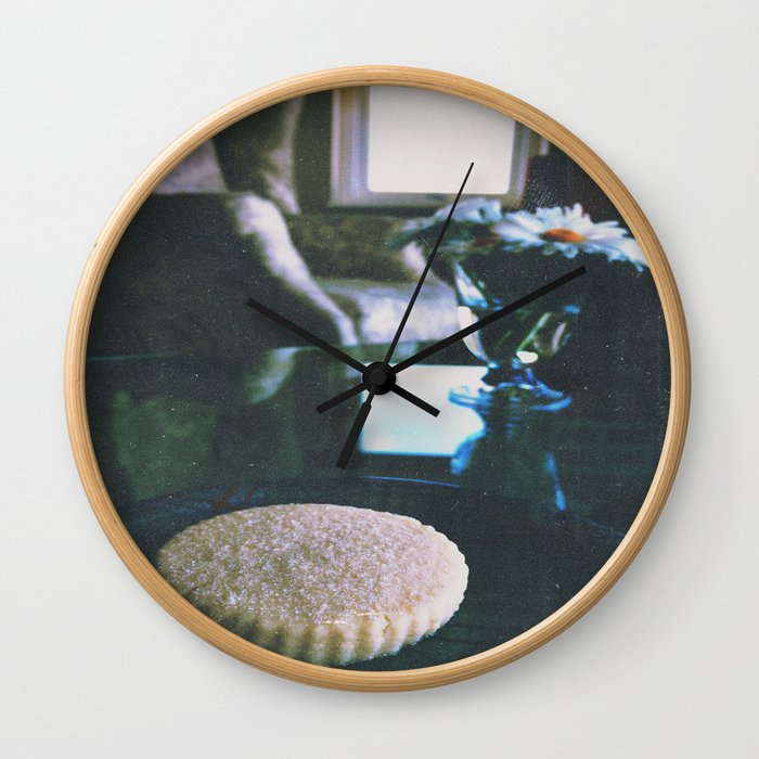 Afternoon Treat Wall Clock