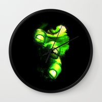 hulk Wall Clocks featuring Hulk by Juliana Rojas | Puchu