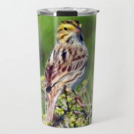 Savannah Sparrow Travel Mug
