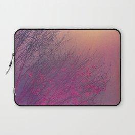 Pink Purple Autumn Dusk Laptop Sleeve