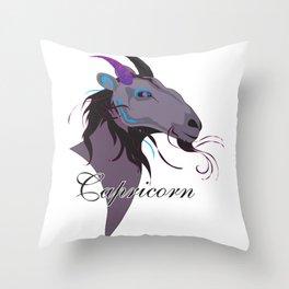 Starlight Capricorn Throw Pillow