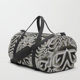 Exo-skelton 3D Optical Illusion Duffle Bag