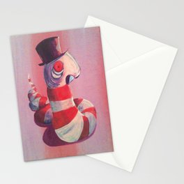Leech with Top Hat Stationery Cards