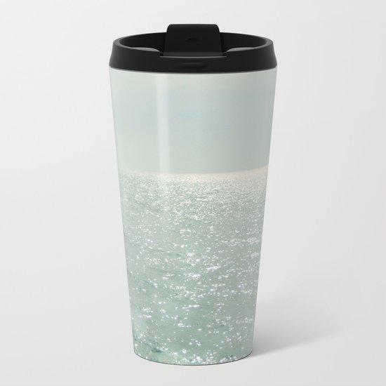 The Silver Sea Metal Travel Mug