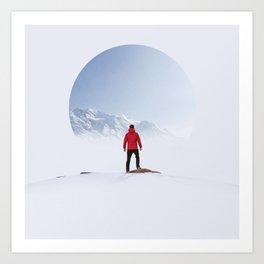 Portal to the Summit Art Print