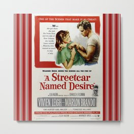 Street Named Desire Metal Print