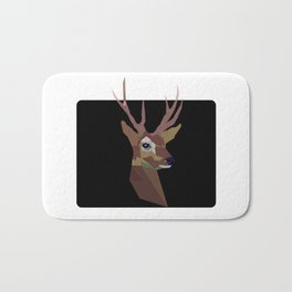 Deer poster picture mug bag rug clock shirt print framed Bath Mat
