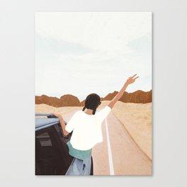 Spring Break Trip Canvas Print
