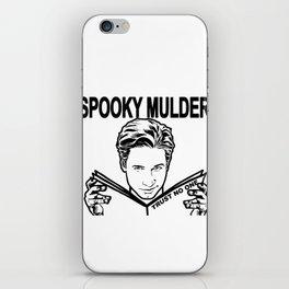 Spooky Mulder Trust no One iPhone Skin