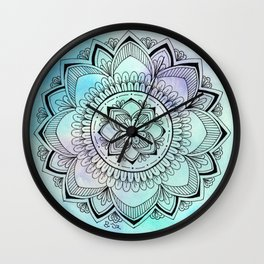 Nymphaea Wall Clock