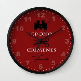 Time Crimes Wall Clock