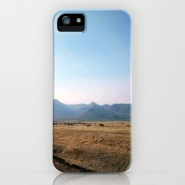 nevada desert iPhone Case