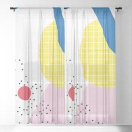 Memphis Series 03 Sheer Curtain
