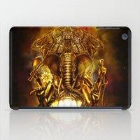 ganesha iPad Cases featuring Ganesha by Giorgio Finamore