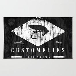 Custom Flies Rug