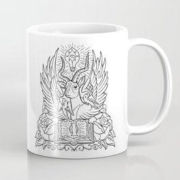 Information Antelope - Black Lines Coffee Mug