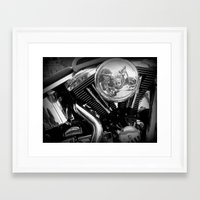 harley Framed Art Prints featuring Harley by Luciano Bove