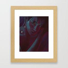Suho diamond Framed Art Print