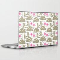 rain Laptop & iPad Skins featuring Rain by ottomanbrim