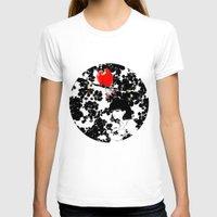 valentine T-shirts featuring Valentine by Priscilla Moore