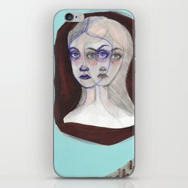 The Triplets iPhone Skin