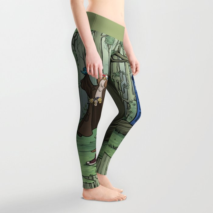 Visions are Seldom all They Seem Leggings