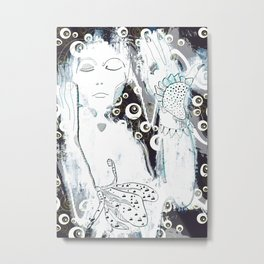 Magic of floral Metal Print