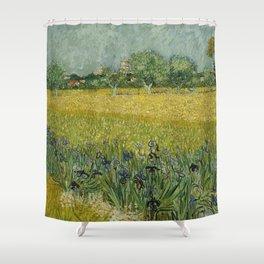 Vincent van Gogh - Flowers Near Arles Shower Curtain