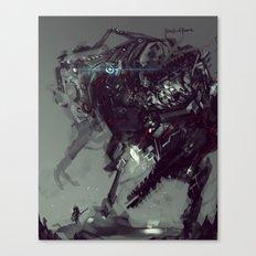 Frankenstein Titan Bot Canvas Print