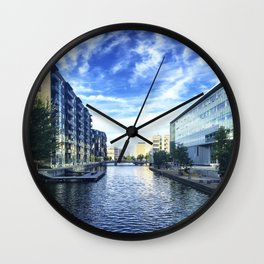 Reflection on Reflection Wall Clock