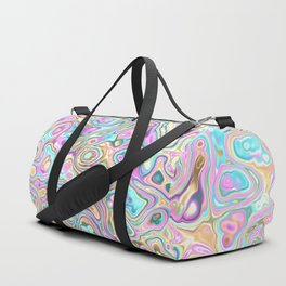 Pastel Blobs Duffle Bag