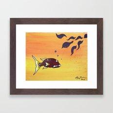Lonesome Track Framed Art Print