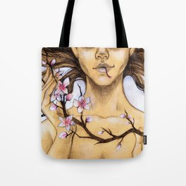 An Innocent Flower... Tote Bag