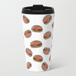 Its Raining Cheeseburgers Travel Mug