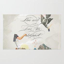 L.W.T.U.A (Love will tear us apart) Rug