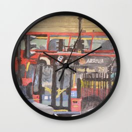 London Buses Wall Clock