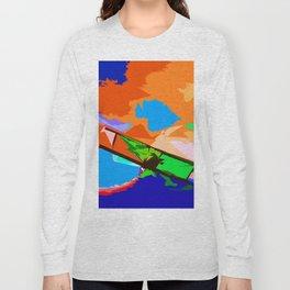 Biplane Aerobatics Long Sleeve T-shirt
