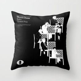 Baku World Chess Grand Prix 2014 Throw Pillow