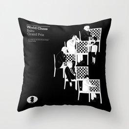 Baku World Chess Grand Prix 2014 Throw Pillow