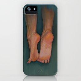 Flying Feet iPhone Case
