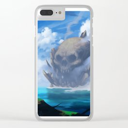 Skull Island Clear iPhone Case