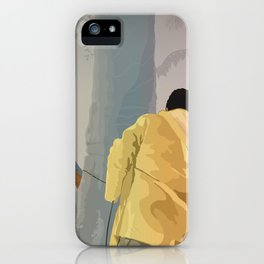 Jurassic Park - Dennis and the Dilophosaurus iPhone Case