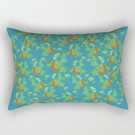 Monstera Obliqua Rectangular Pillow